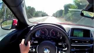 2013 BMW M6 - WINDING ROAD POV Test Drive