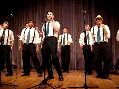 On the Rocks - Senorita - West Coast A Cappella 2010
