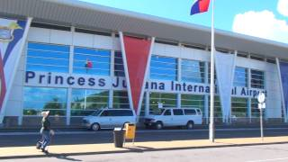 SXM Princess Juliana Airport - Terminal (INSIDE / OUTSIDE) - HD