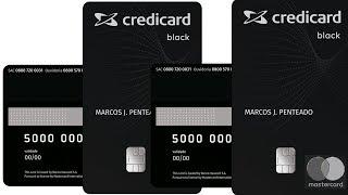 Cartão Credicard Mastercard Black sem exigência de renda minima