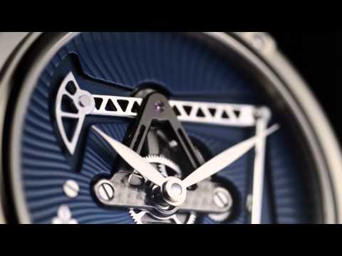 Louis Moinet Derrick Tourbillon Features Working Oil Rig: VIDEO