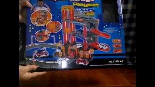 SUPER GARAGE PLAYSET- pista de autos de juguete.