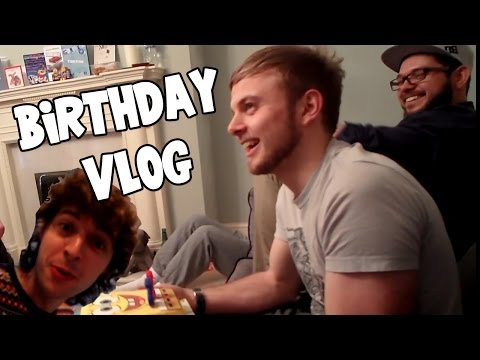 Squiddy's Birthday VLOG