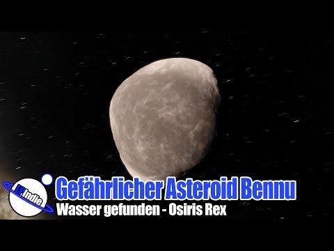 Gefährlicher Asteroid Bennu: Wasser gefunden - Osiris Rex Mission
