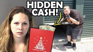 I Bought A FELONS Storage Unit And FOUND HIDDEN CASH! I Bought An Abandoned Storage Unit!