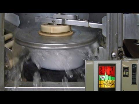 自販機の内側~ラーメン自販機調理工程