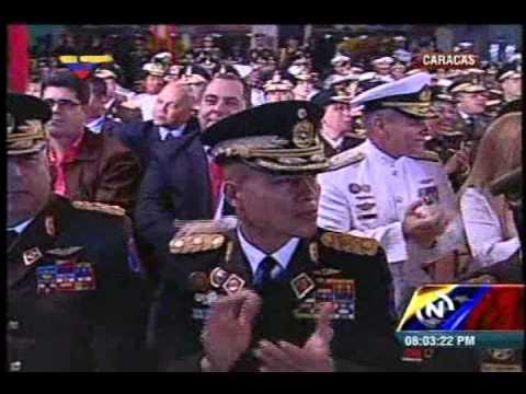 Maduro anunció aumento salarial del 45% para la Fuerza Armada Nacional