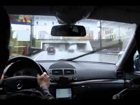 Moscow centre driving /// Москва, центр (with Russian trance/house music),,,