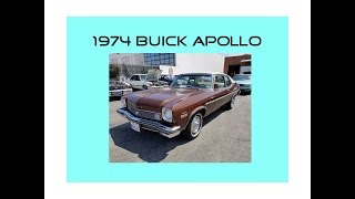 1974 Buick Apollo