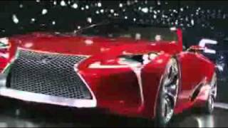 The Official Unveiling of the Lexus LF-LC Concept Vehicle