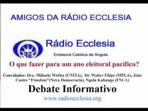 Debate Informativo - O que fazer para um ano eleitoral pacifico. 2012 É o ano das...