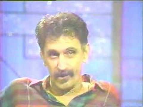 Frank Zappa on Arsenio Hall in February 1989