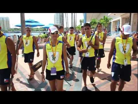 Pinoy Dragon Warriors Win Gold In 2011 IDBF World Dragon Boat Racing Championship In Tampa Florida