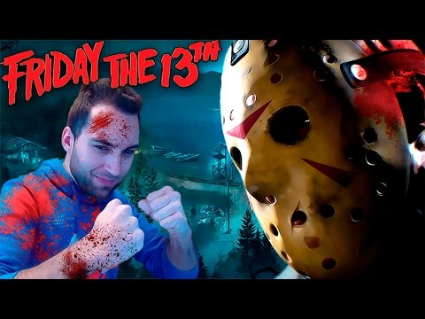 FRIDAY THE 13th the game - PARTIDA EPICA - VIERNES 13 GAMEPLAY ESPAÑOL