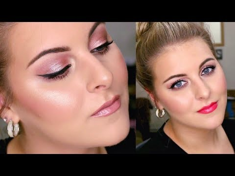 Everyday ROSE GOLD Eye Tutorial    Perfect for SUMMER!   2 Lip Options