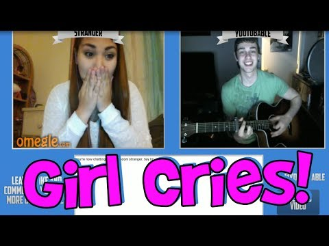 Girl Cries On Omegle (funny Fan Reaction) video