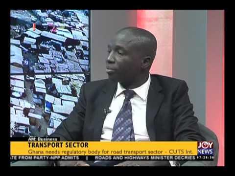 Transport Sector - AM Business on Joy News (22-6-16)