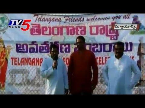 New York | 'Telangana Formation' Celebrations Under Telangana Friends @ Albania : TV5 News