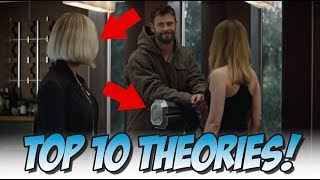 Top 10 Avengers: Endgame Theories (MCU Predictions)