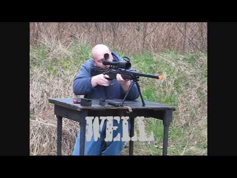Well MB08  / Type 96 Airsoft Sniper Rifle Review