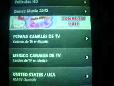 television en el lg e510f hub