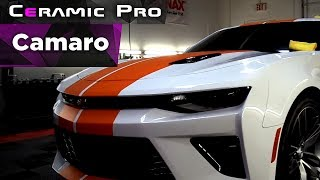 Detail BOSS  представляет свою работу   Camaro покрытая защитой Ceramic Pro