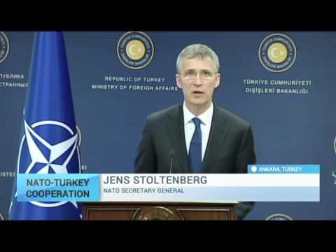 NATO-Turkey Cooperation: Number of migrants across Aegean Sea falling