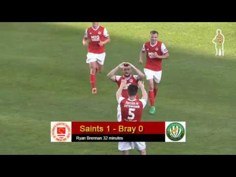 Highlights: Saints 3 - Bray 0 (03/08/2018)