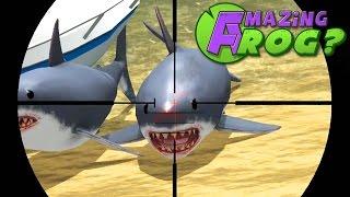 Download Lagu Amazing Frog - SHARK SNIPING - PC Gameplay Part 18 | Pungence Gratis STAFABAND