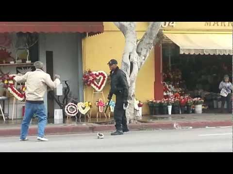 Security guard Vs homeless karate master Image 1