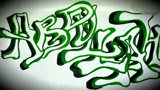 Abdullah | Name Art | Stylish Letters | 3D Alphabets | Beautiful Calligraphy