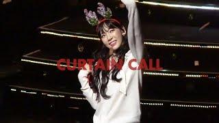 171224 태연 - CURTAIN CALL @ CHRISTMAS LIVE