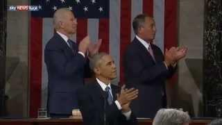 أوباما يدعو مواطنين أميركيين للكونغرس