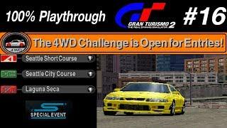 Gran Turismo 2 - #16 - 4WD Challenge (100% PT)