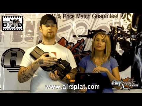 AirSplat OD - Classic Army & JG P90 Airsoft AEG Sub Machine Gun Review Ep 22