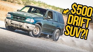 We Turned A Broken $500 Ford Explorer Into An AMAZING Drift Car (In 5 Days)