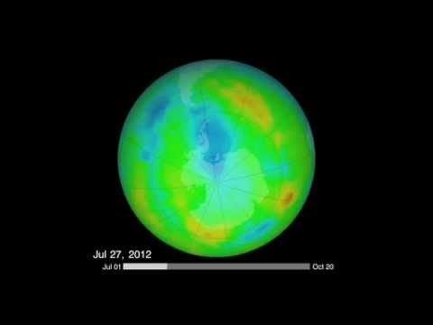 Ozone Hole Reaches Max Sept. 22