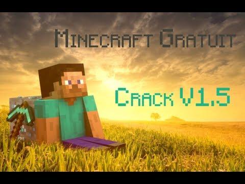 [TUTO] Comment avoir Minecraft gratuit   Minecraft Crack 1.5   FR   +Pipix