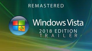Windows Vista New Edition Trailer | 2018 | Concept Design |YouTube|