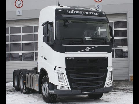 Опыт эксплуатации Volvo Trucks FH 6x4 на предприятии «Сибирь Плюс»