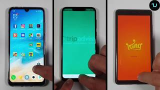 Snapdragon 675 vs 710 Kirin 970 Speed test/Gaming PUBG Redmi Note 7 Pro vs Honor Play Xiaomi MI8 SE