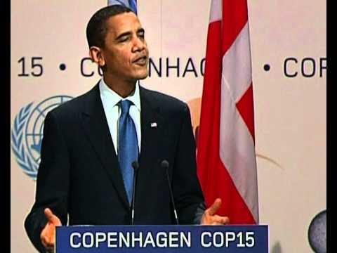 Barack Obama press conference on climate change