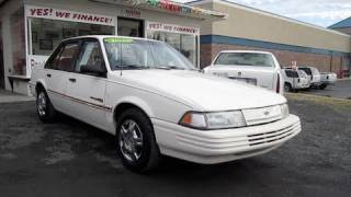 1992 Chevrolet Cavalier RS Start Up, Engine, and In Depth Tour