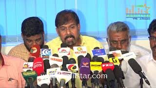 FEFSI Union Press Meet Regards Tamil Cinema Strike