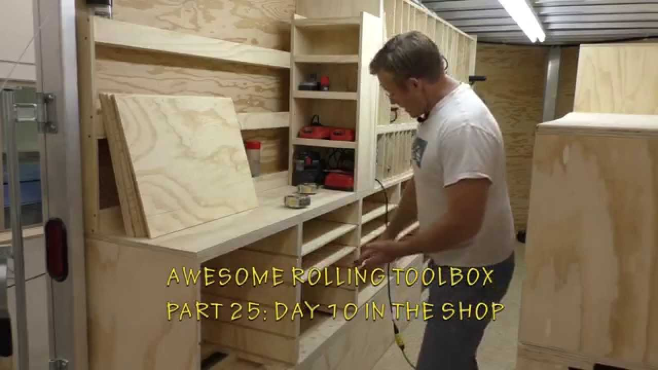 Building A Mobile Woodshop Part 25 Making The Drawer