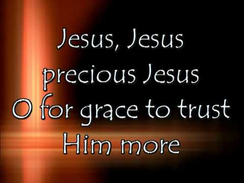 Hymnal - Tis So Sweet To Trust In Jesus