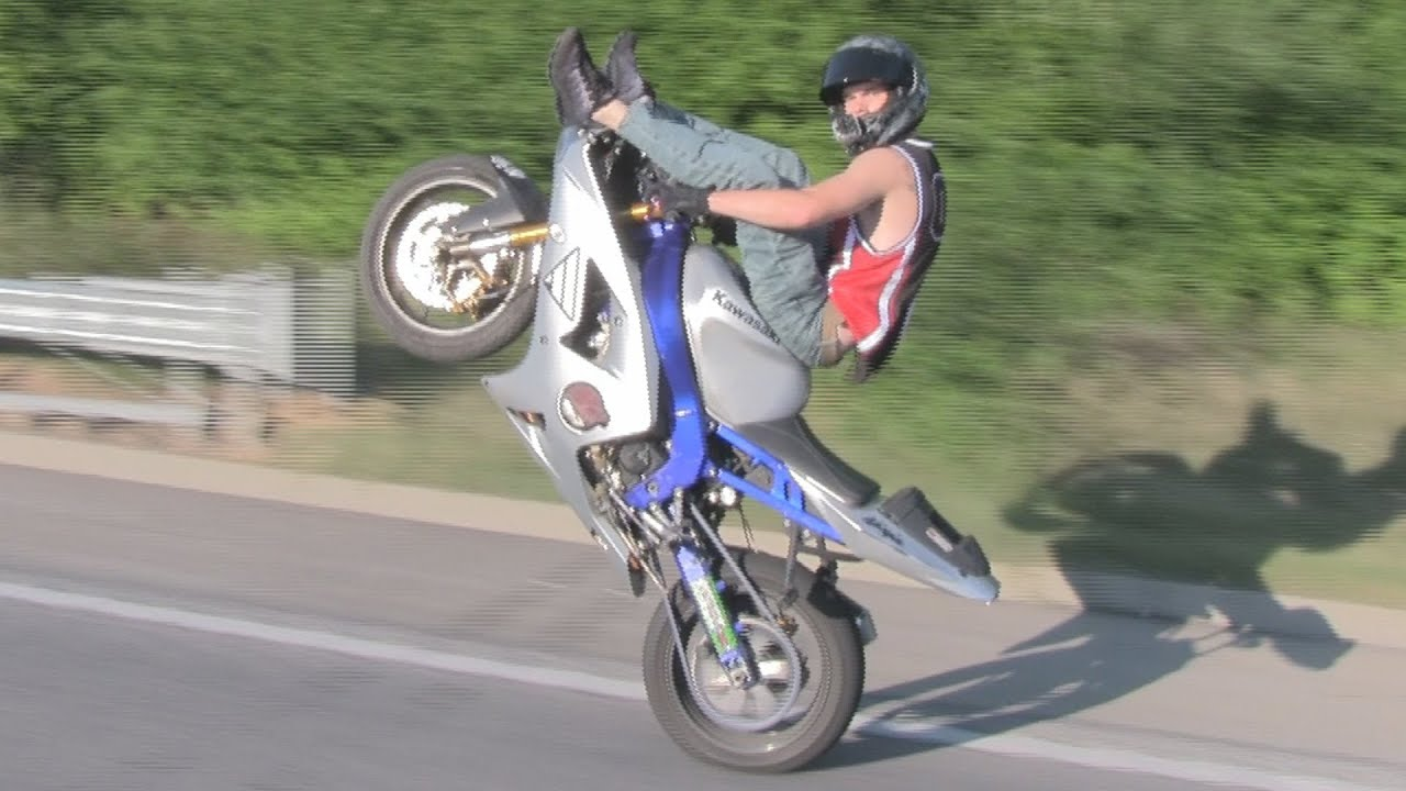 Bike Tricks And Stunts Extreme Freestyle Street Bike
