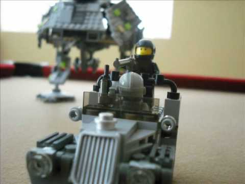 Lego Halo ODST the movie