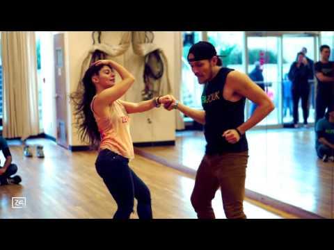 Ry'El (Henry Velandia) & Jessica Lamdon - LambaZouk Demo #1 - Belle allé - Jean-Michel Rotin
