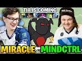 Miracle Shadow Fiend vs Mindcontrol: Practicing Raze For TI8